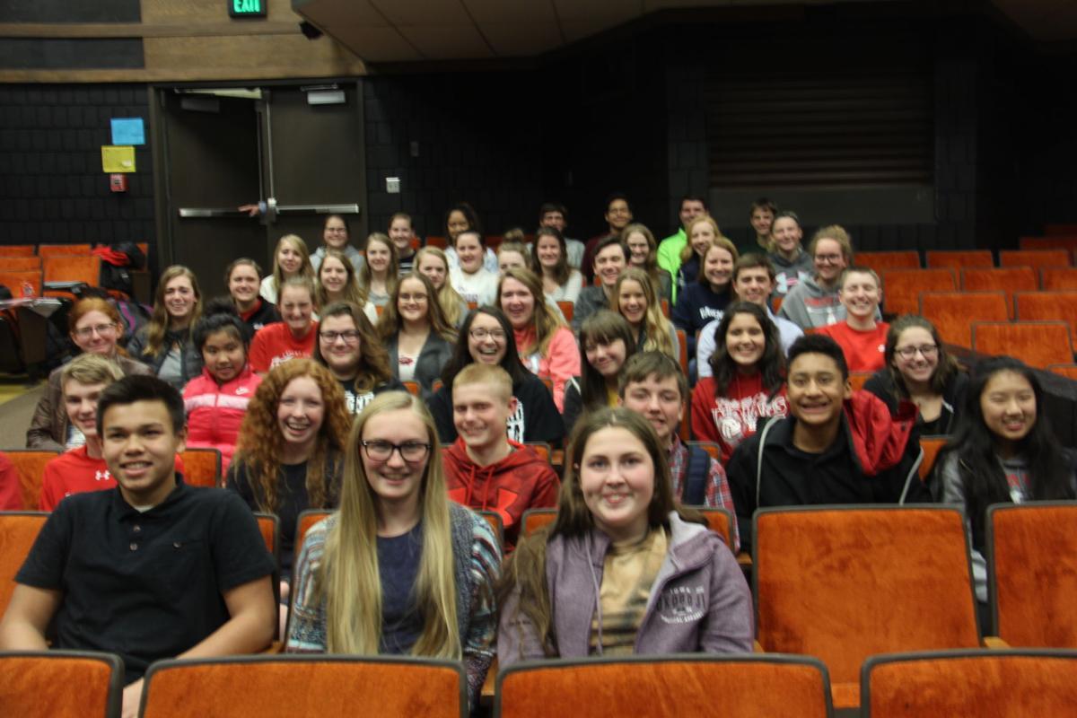 FCHS Top of Iowa Speech Contest