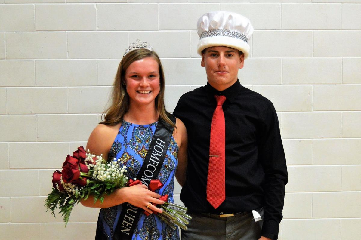 West Hancock Homecoming King and Queen