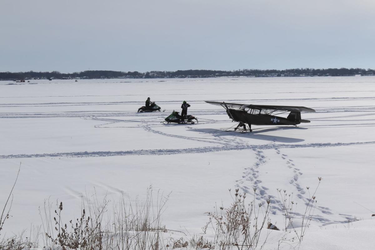 Emergency landing Clear Lake