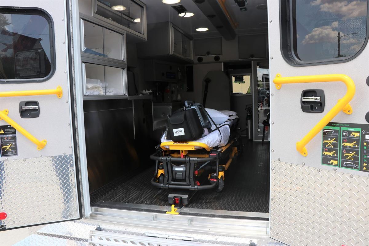 2021 Ambulance Osage hospital BACK