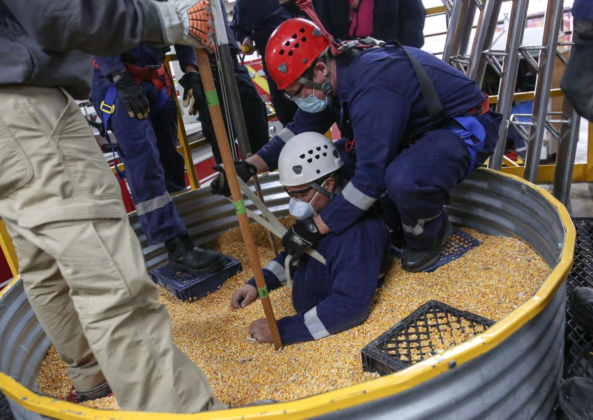 Mason City fire department rescue 1