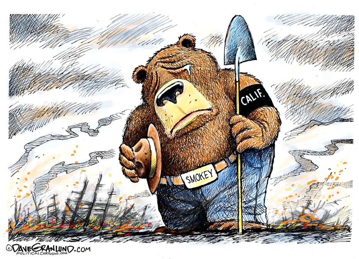 political cartoons fires peace coal guns catalonia columnists