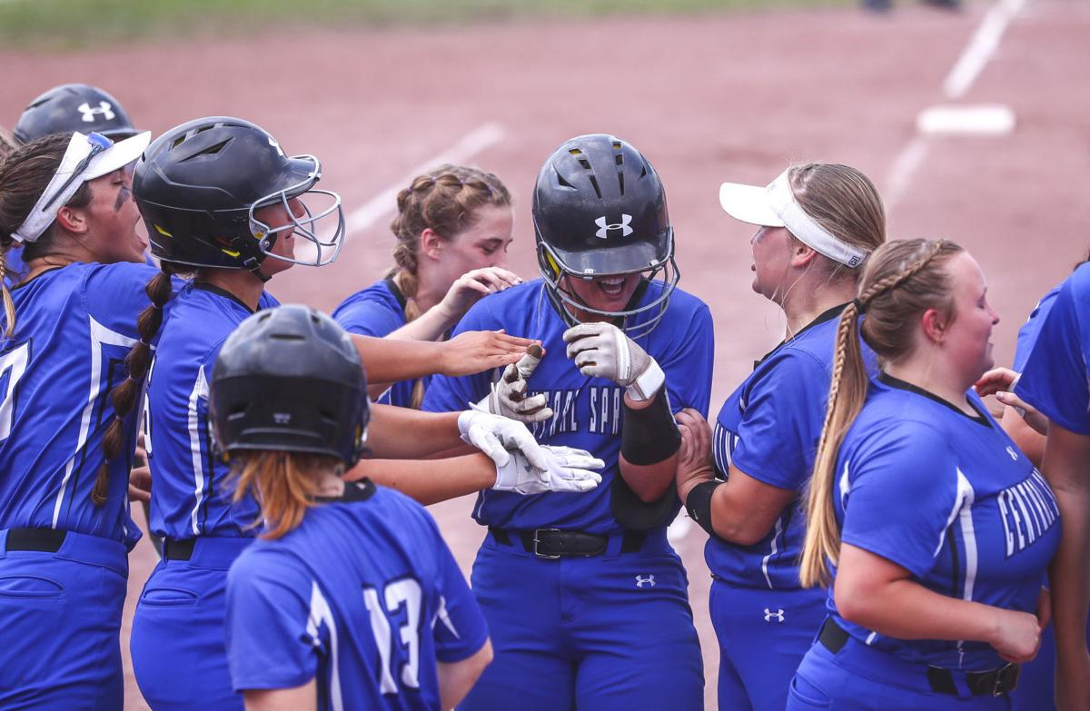 State Softball Central Springs Wednesday 3