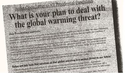 presidential ad on climate change 1999