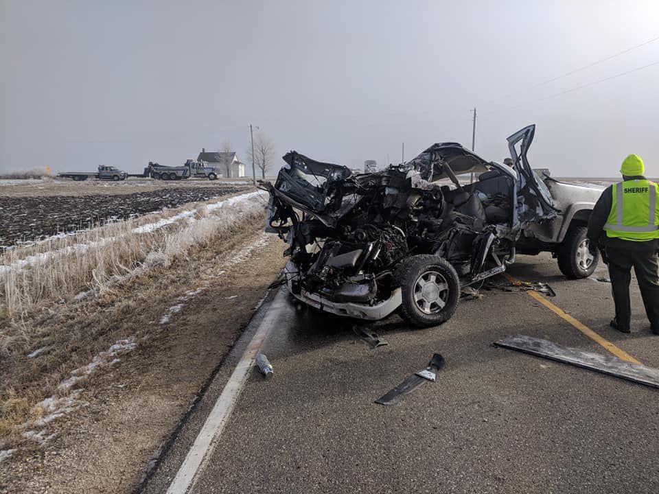 Photos: Semi-vehicle crash near Marble Rock | Mason City