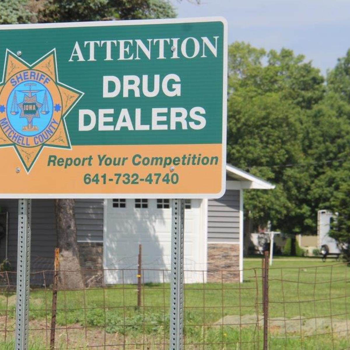 New county sign sends unique message to drug dealers   News