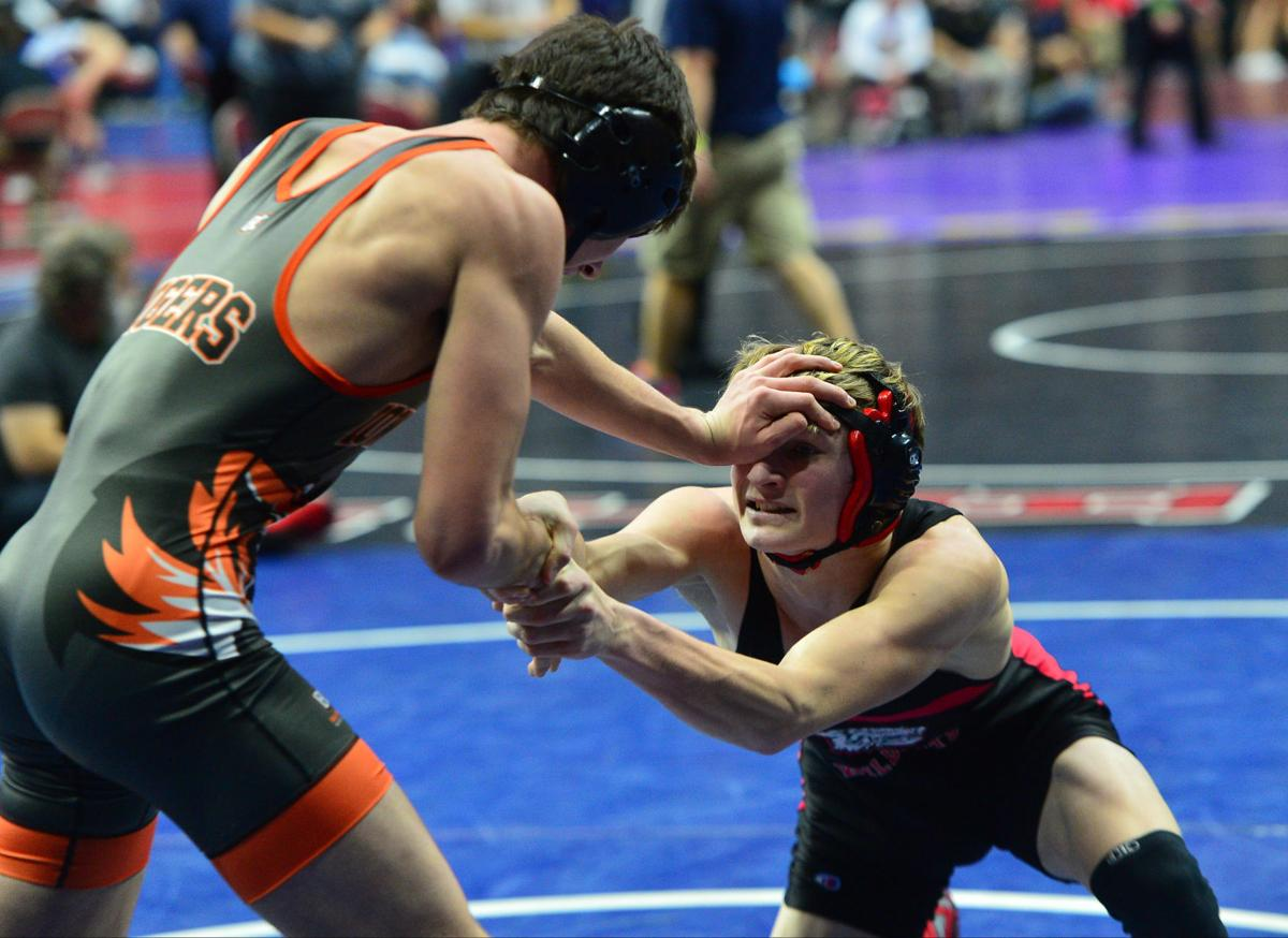 State Wrestling Thurs 1A 62