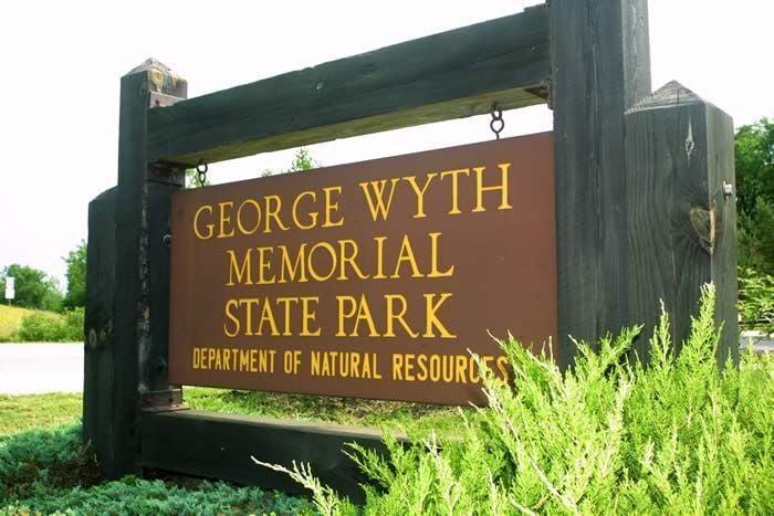 George Wyth State Park sign