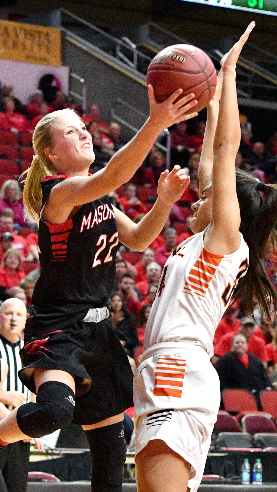 Mason City vs Grinnell state basketball