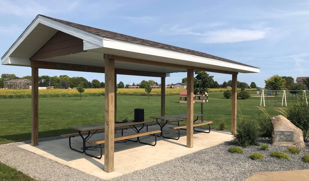 Mark Neibauer Four Oaks dedication- Shelter house