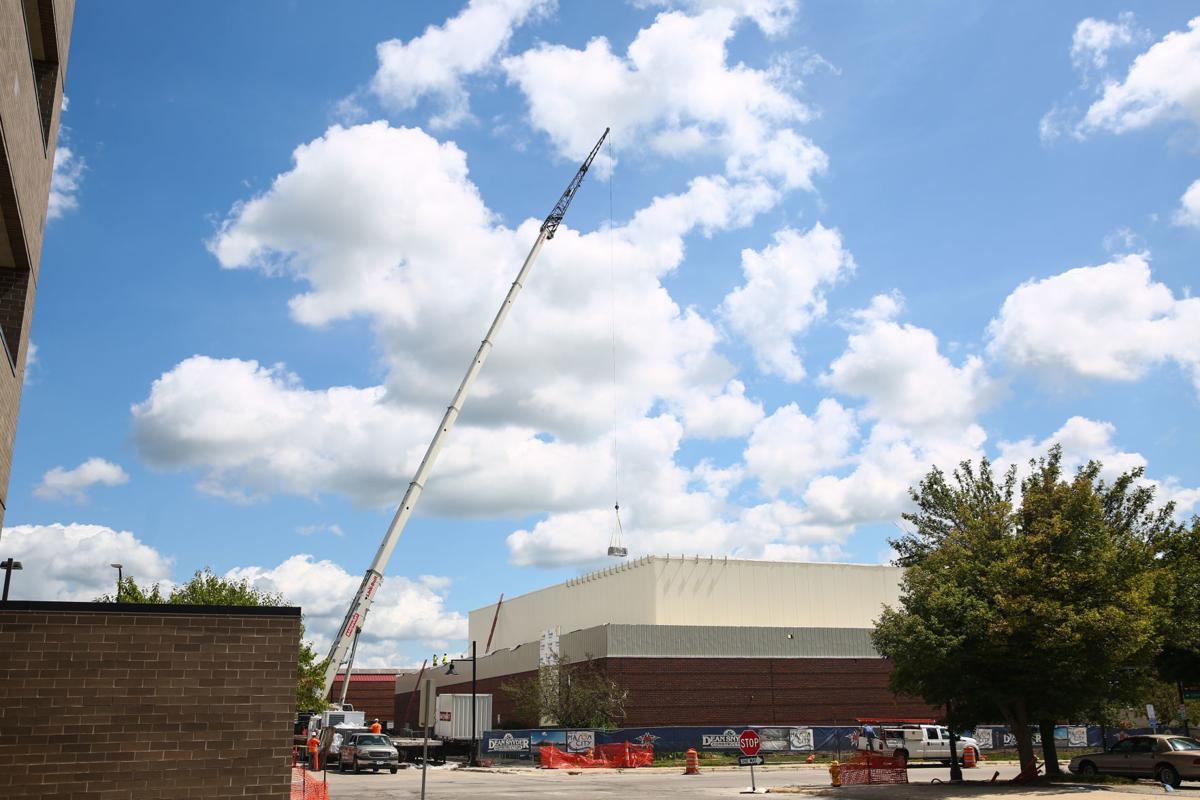 Arena work at Southbridge
