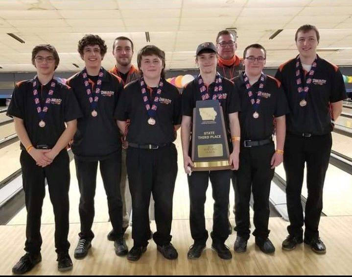 Charles City bowling team