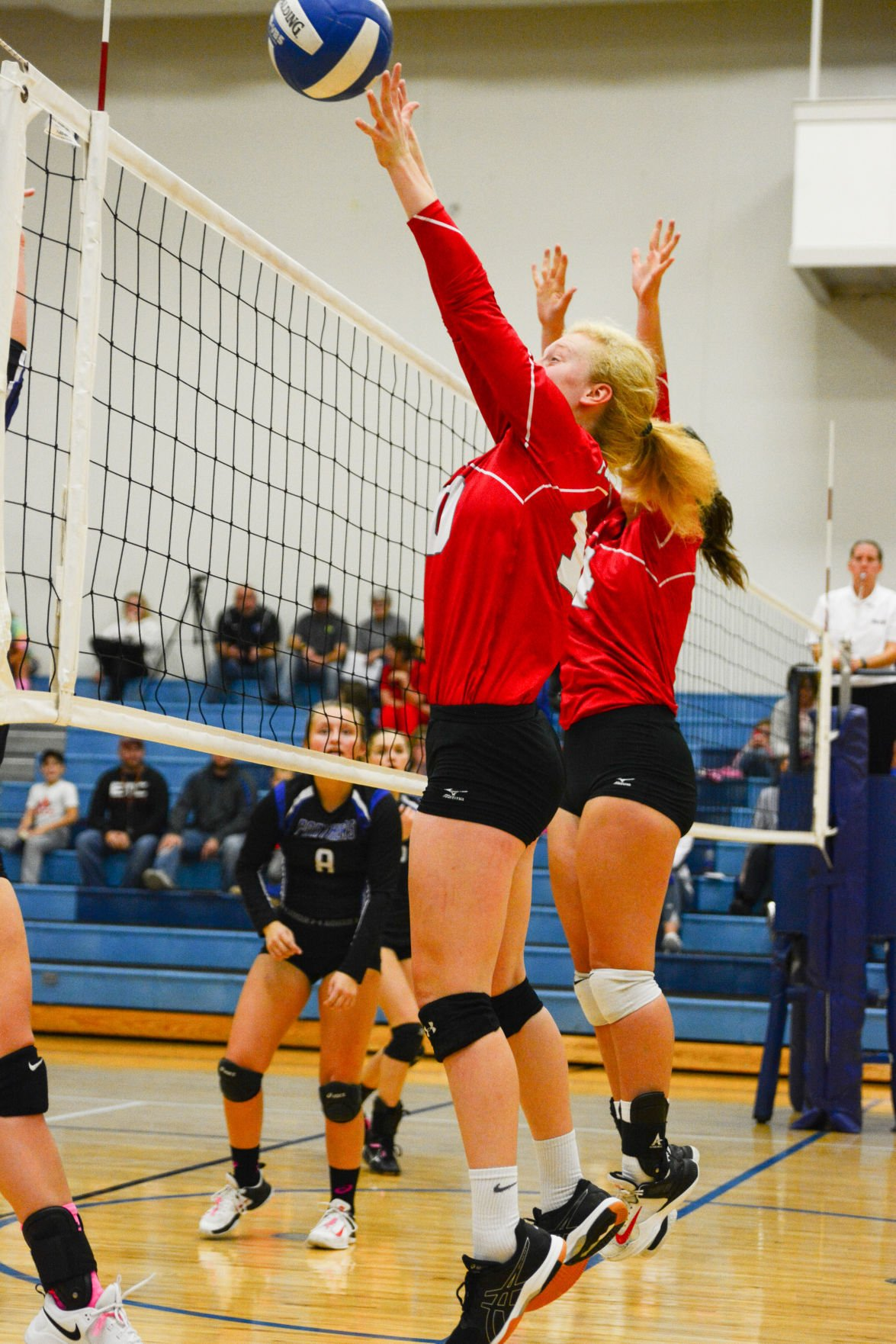 FC volleyball vs. Central Springs 1