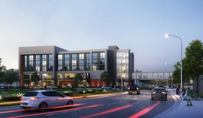Gatehouse hotel rendering