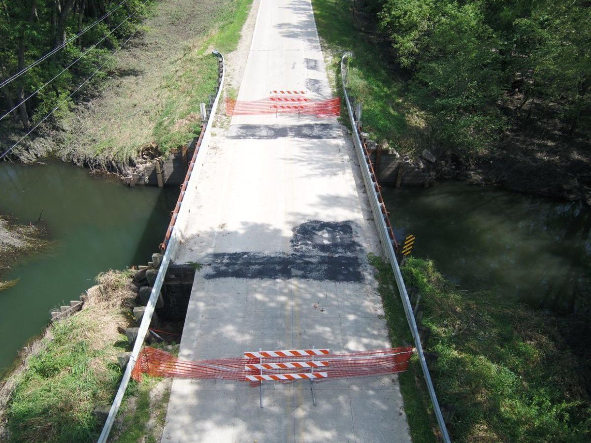 Fish Creek Bridge flood