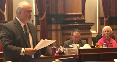 Jim Carlin Sioux City Iowa Senate abortion amendment