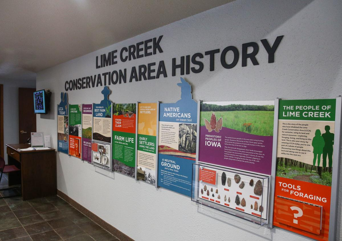 Lime Creek Nature Center improvements 1