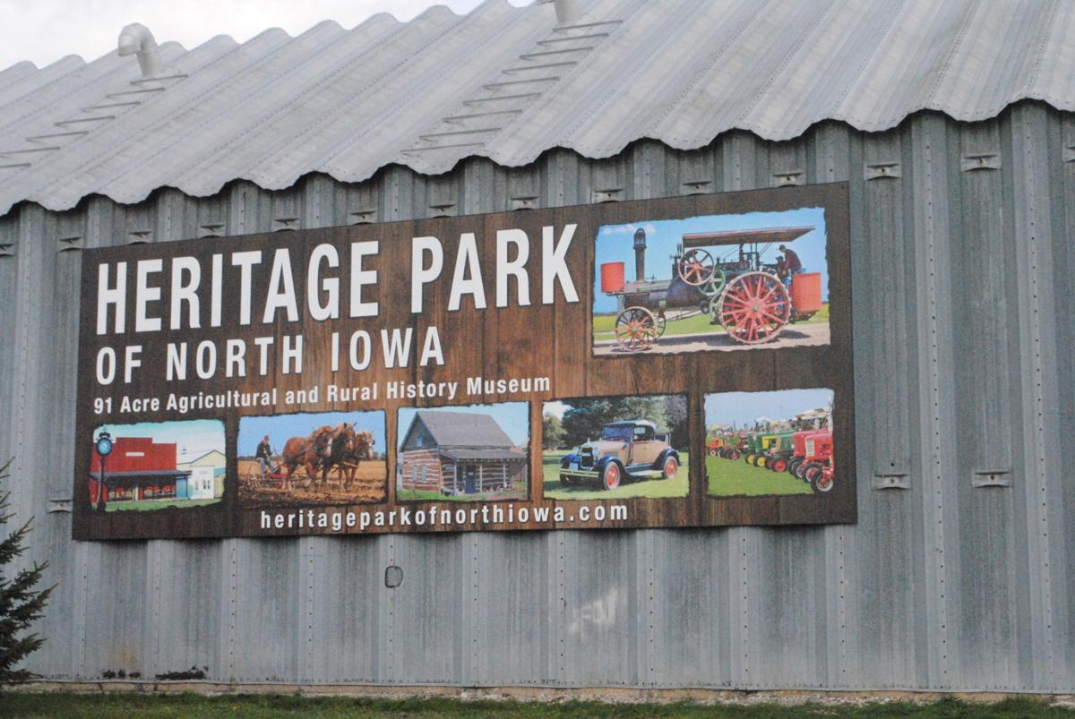 Heritage Park new sign