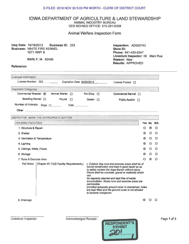 kavars exh 201 ia dept ag rep..pdf