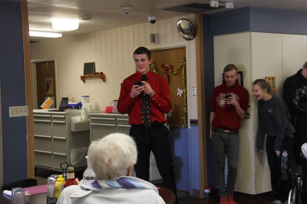 English 3 students at Good Samaritan