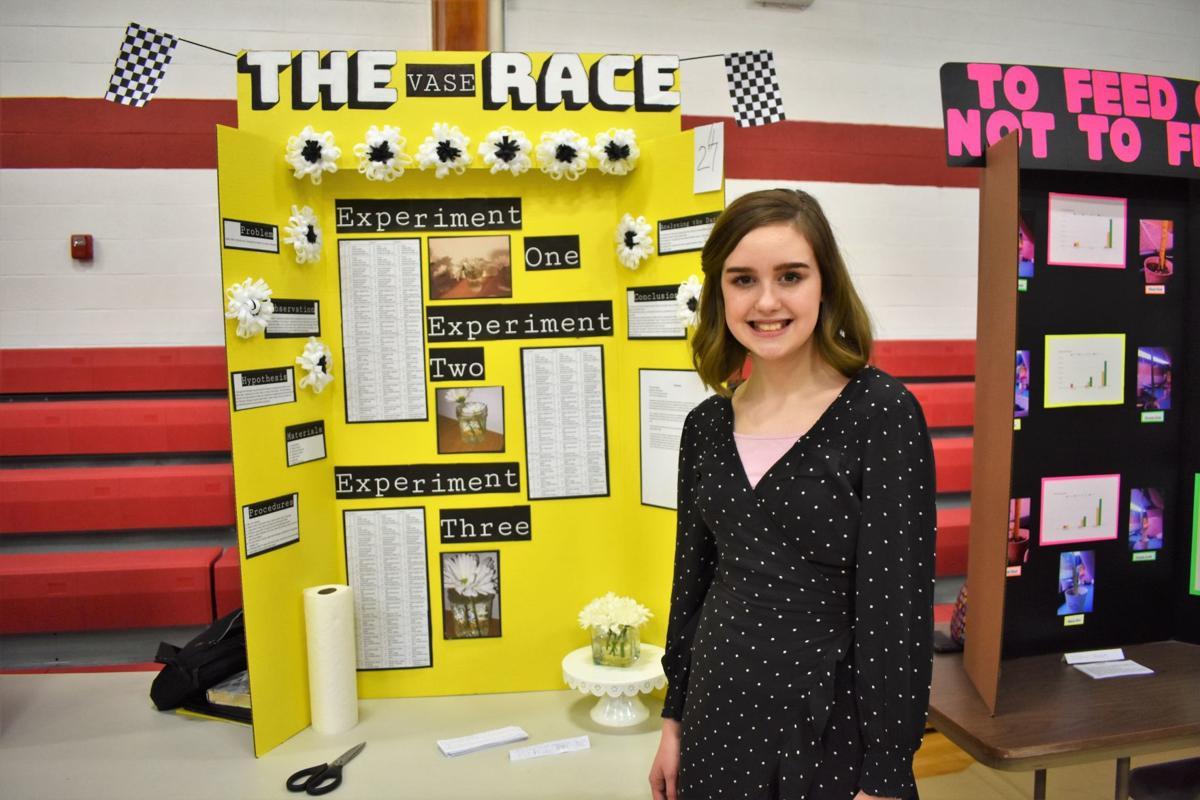 West Hancock Middle School Science Fair - second place - Seventh grade