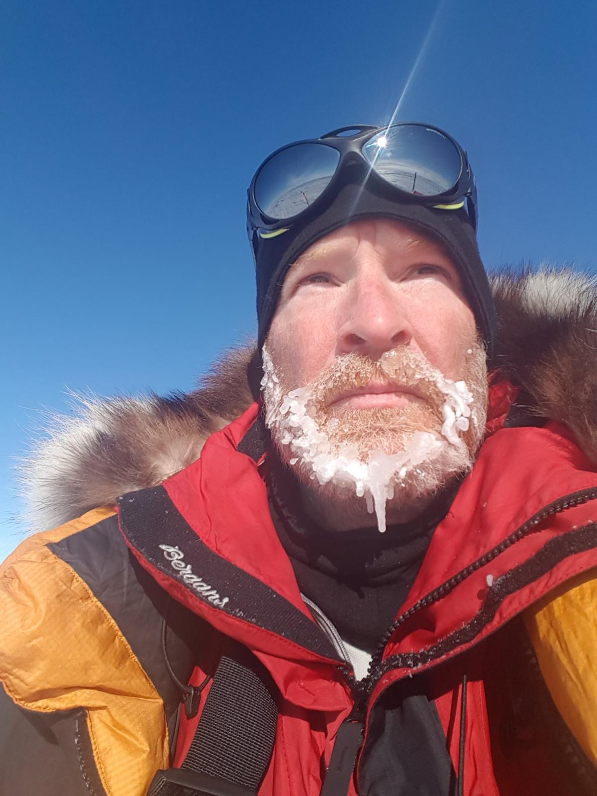 Paul Adams at the South Pole 2