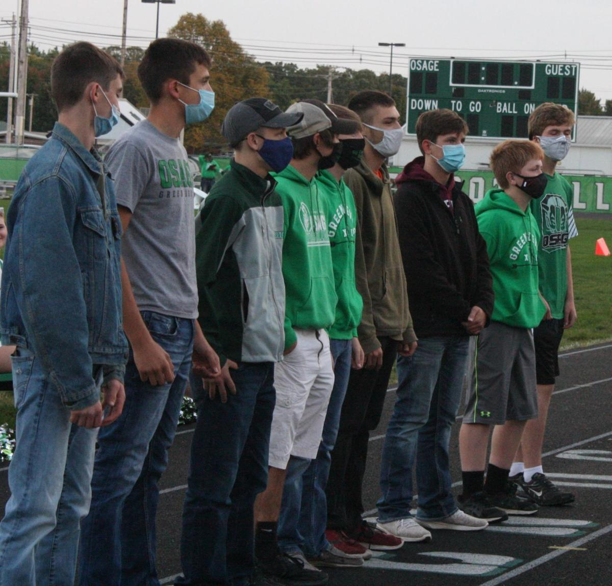 Osage Homecoming -- Boys XC Team