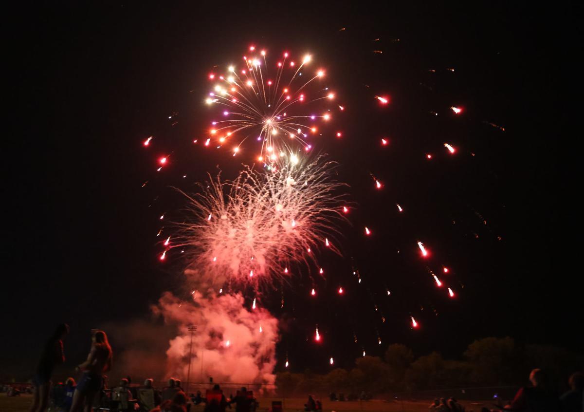 Mason City fireworks 2019