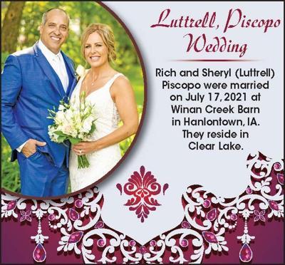Congratulations Rich & Sheryl Piscopo