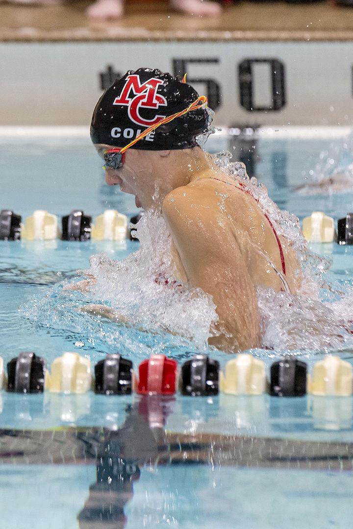 Mohawks swimming-Aspen Cole