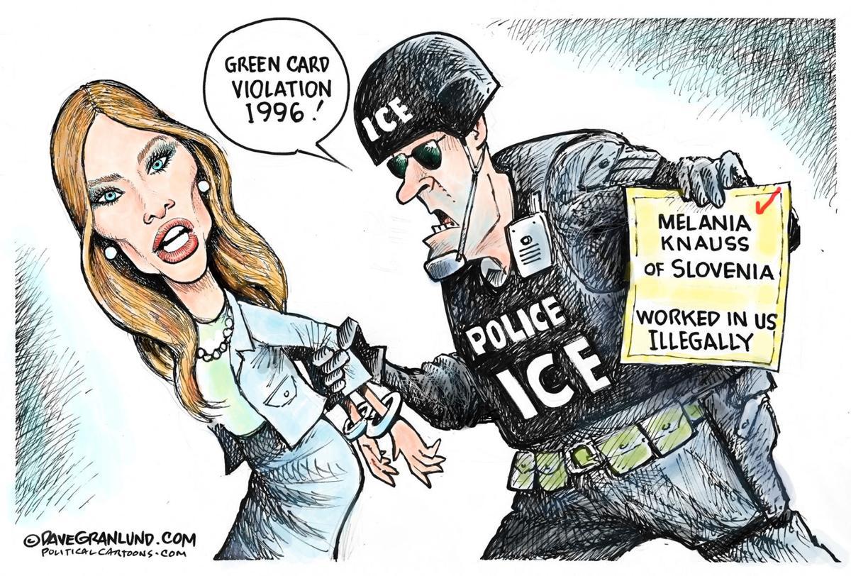 Political Cartoons Kim Jong Ice Russia Trump Column
