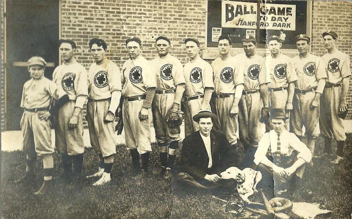 1912 Hub bottling company baseball town team.jpg