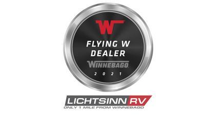 Lichtsinn RV Winnebago dealership award
