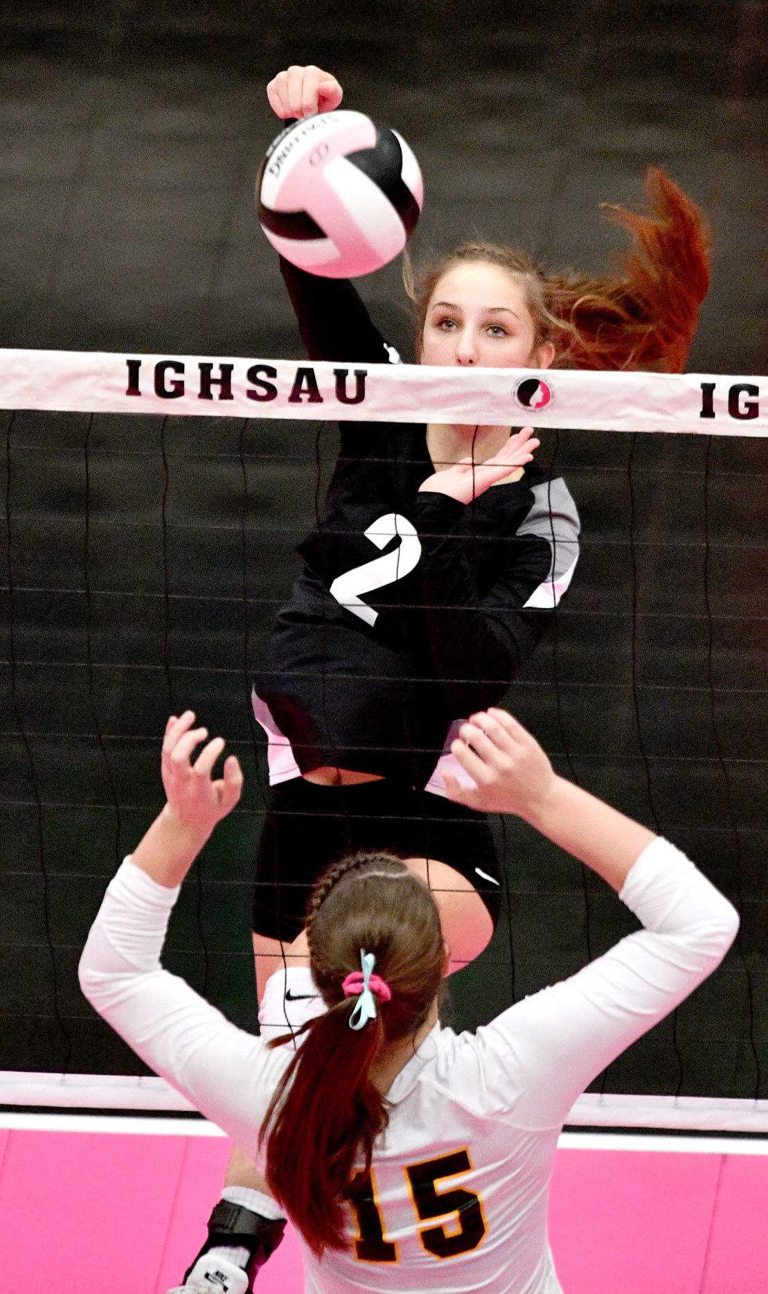 Osage vs Tipton state volleyball