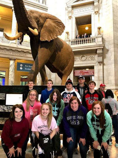 Riceville students in D.C.