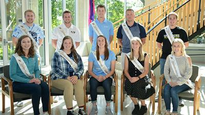 UIU Homecoming Court