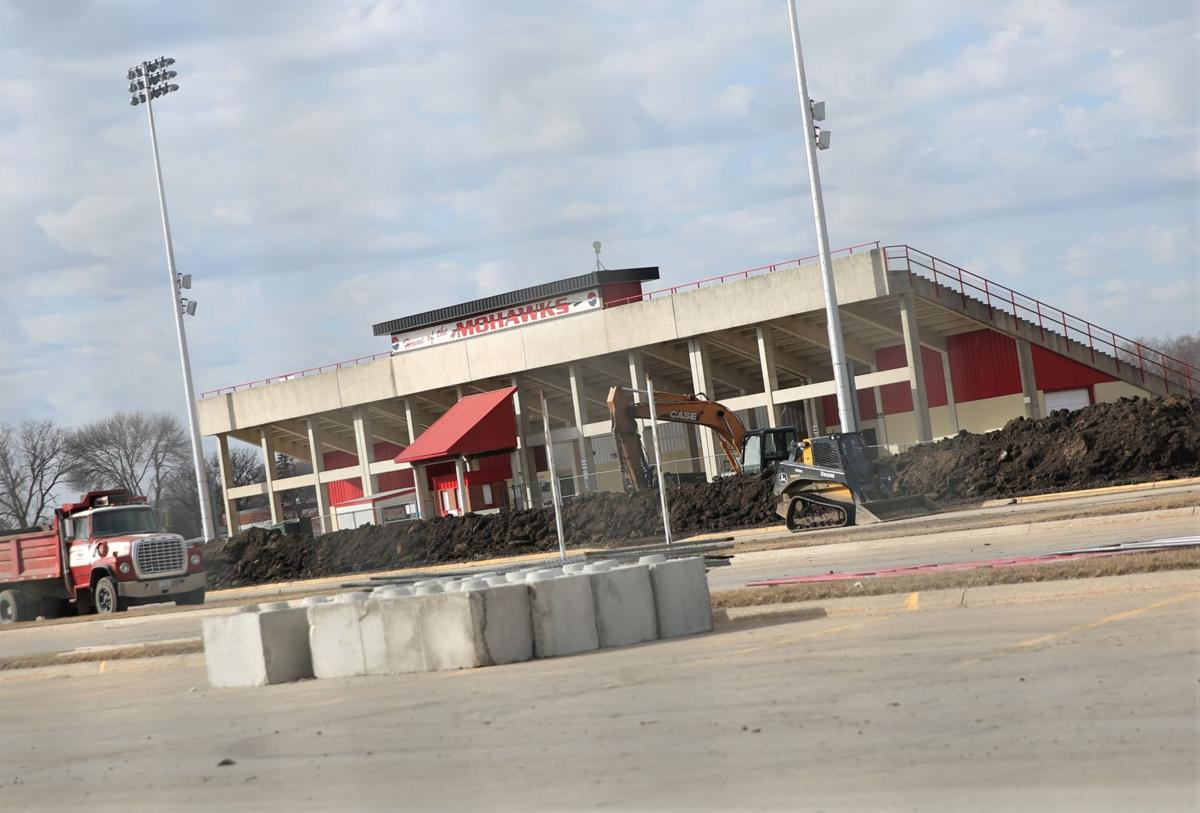 MCHS field house construction 1