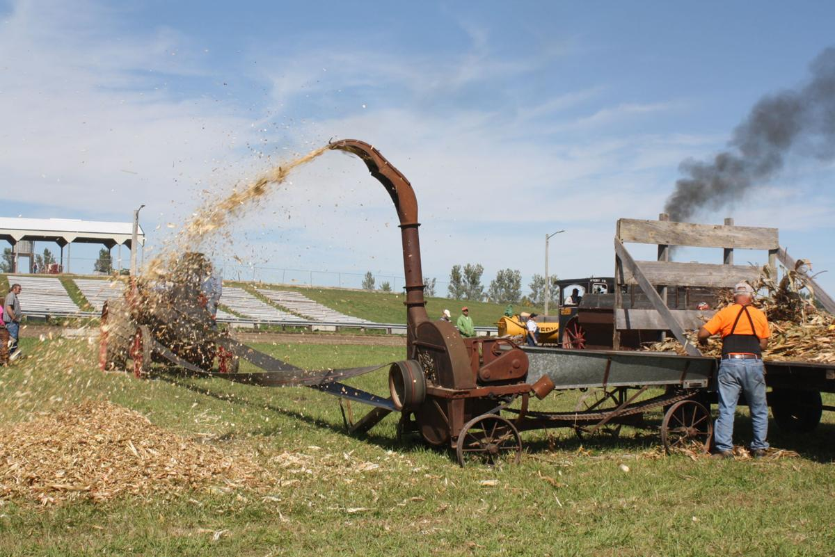 Threshing 1