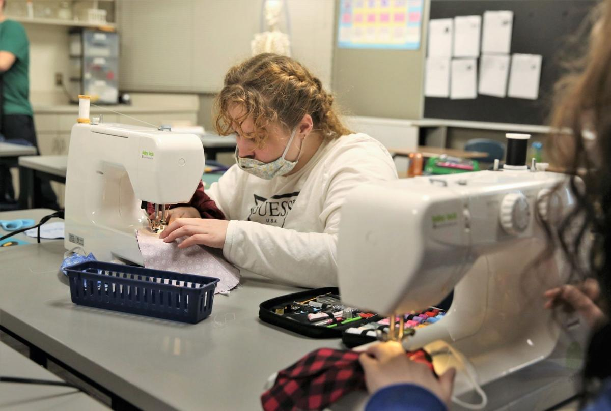 Alternative School - mask sewing