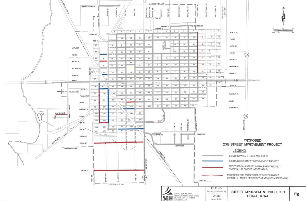 Street Project map