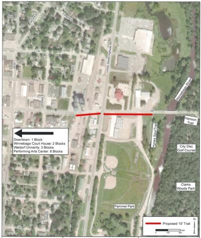 Extension coming to Forest City trail system