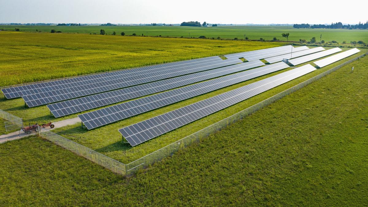 Forest City Schools future solar array
