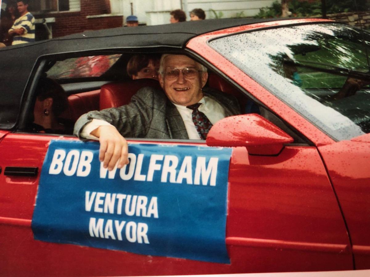 Bob Wolfram in parade