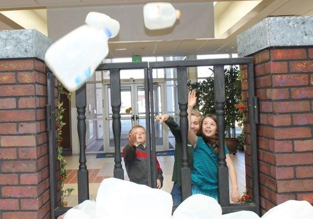 Milk jug contest