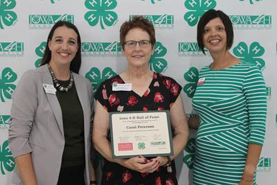 Carol Peterson inducted in 4-H Hall of Fame