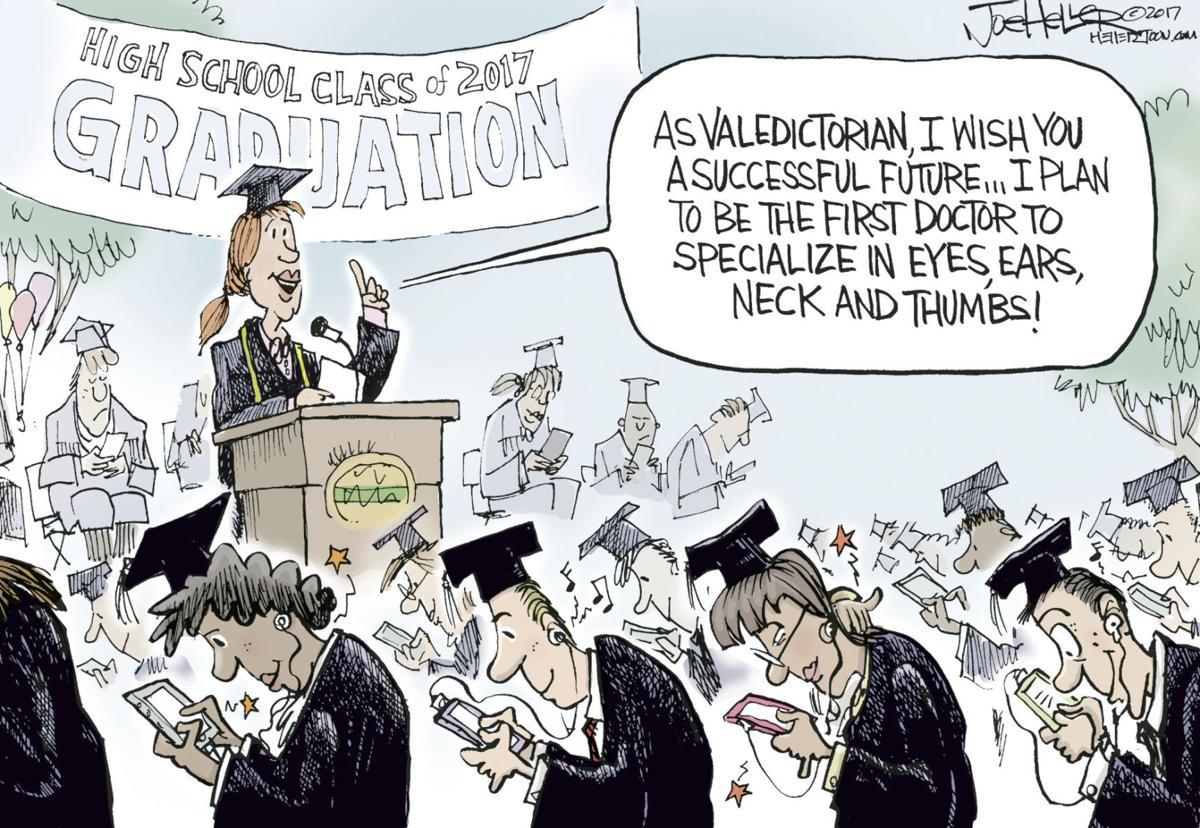 Grads by Joe Heller