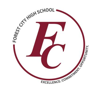 NEW Forest City High School logo