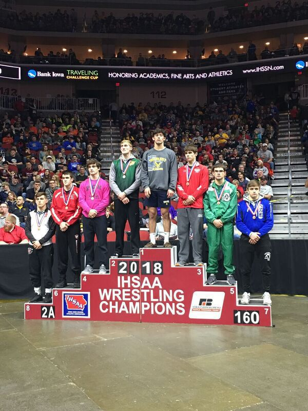 Zach Williams on the podium