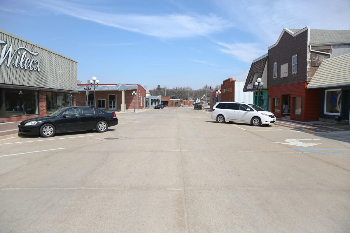 Main Street Clear Lake - COVID-19 2