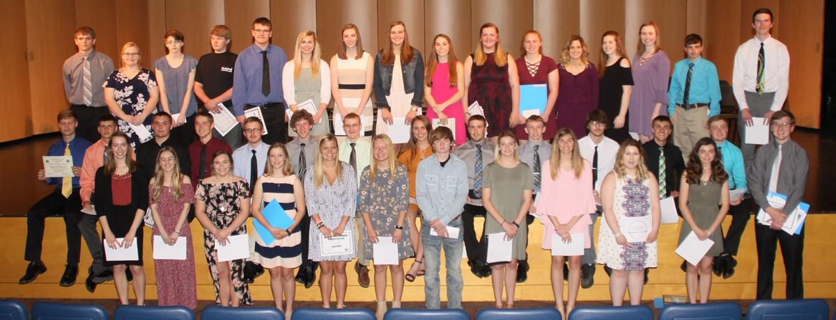2018 Senior Scholarship winners